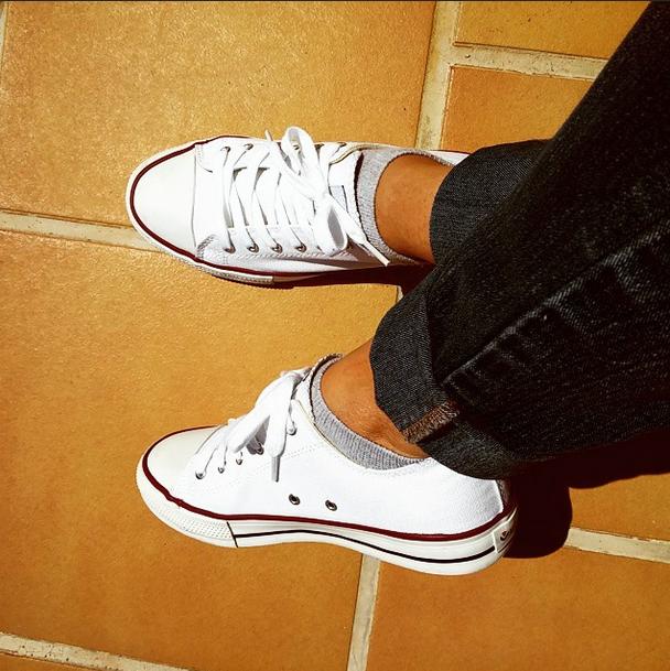 Zapatillas Victoria Basket blancas PalomaTrends
