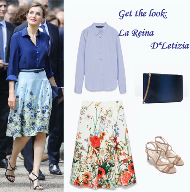 Get the look Reina Letizia en París