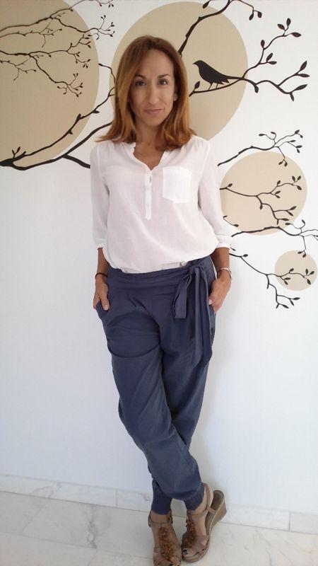 Pantalón lazo cintura