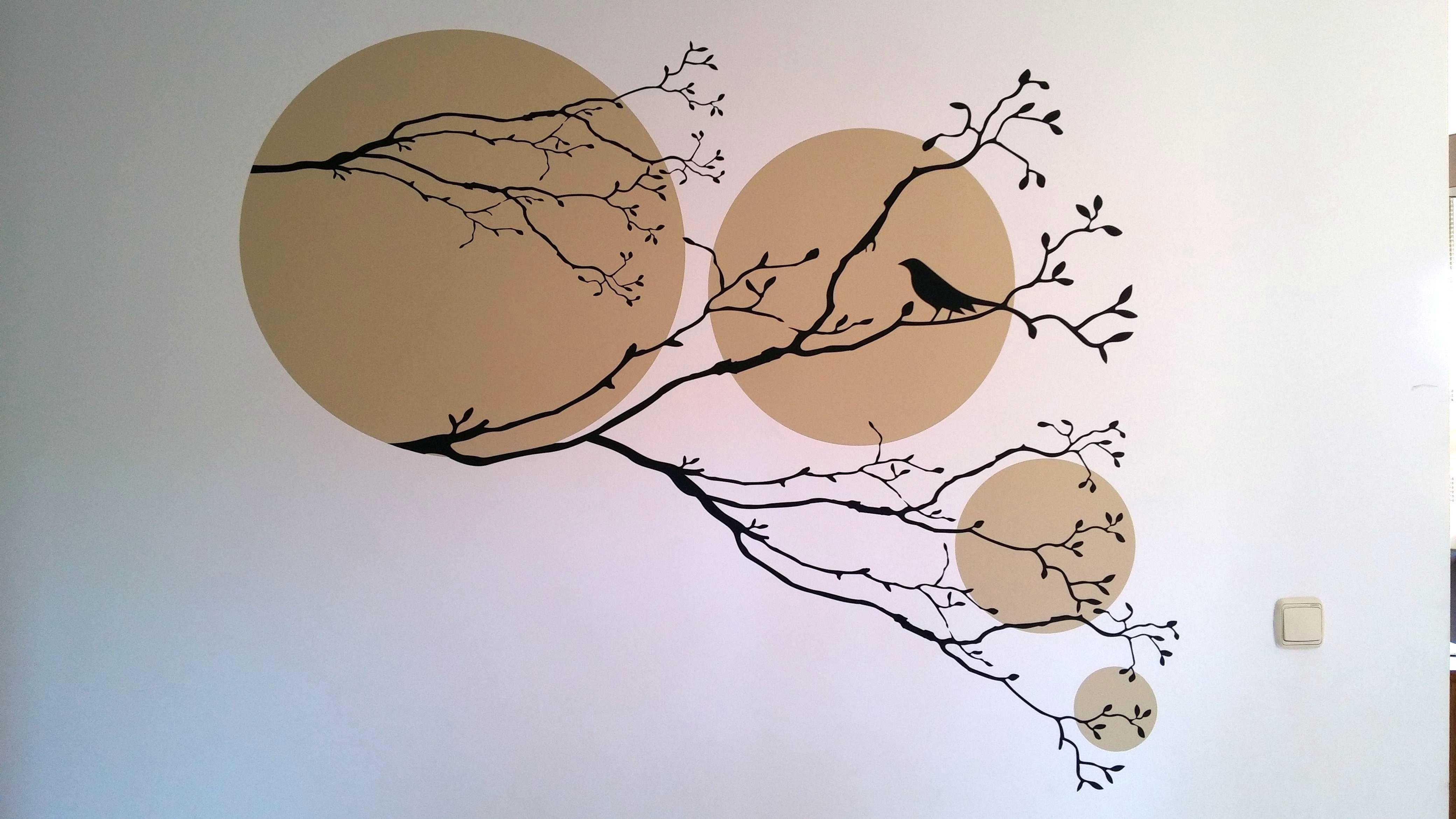 Vinilo pájaro zen