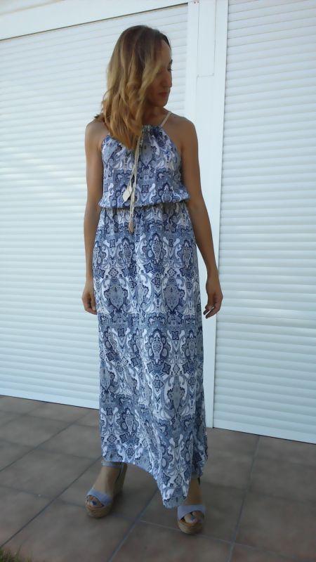 Vestido largo de verano PalomaTrends
