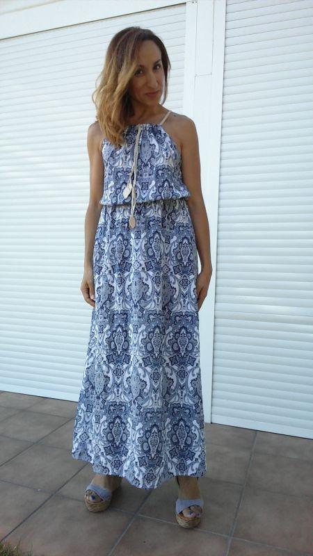 Maxi vestido Mulaya