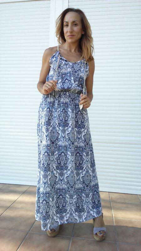 Mulaya vestidos largos