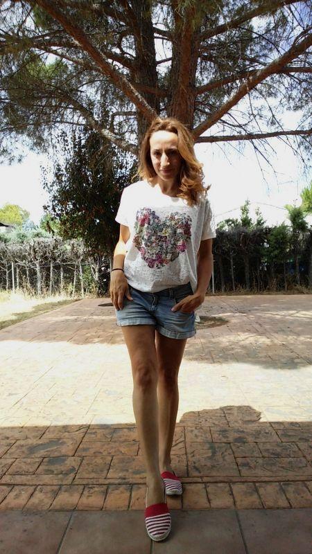Look verano alpargatas
