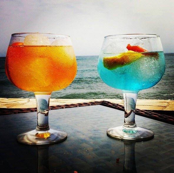 Gin Tonic Saffron y Martin Miller