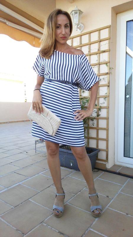 Vestido rayas PalomaTrends