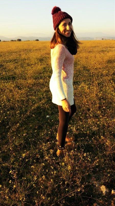 Vestido de lana PalomaTrends