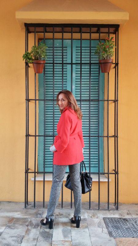 Abrigo rojo Trucco
