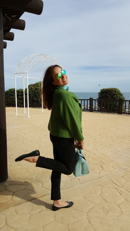 Chaqueta verde