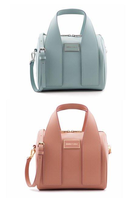 Bolso Bimba y Lola azul y rosa